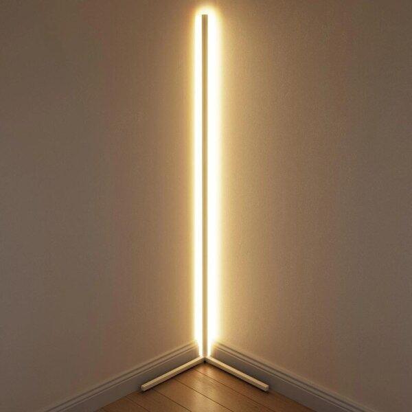 Modern RGB LED Corner Floor Lamp Bedroom Decoration Atmosphere Lamp Bedroom Living Room Colorful Indoor Club Standing Lighting