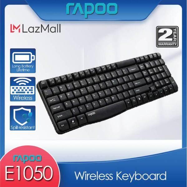 Rapoo E1050 2.4G Wireless Keyboard (FREE Rapoo Mousepad+FREE Bottle) Malaysia