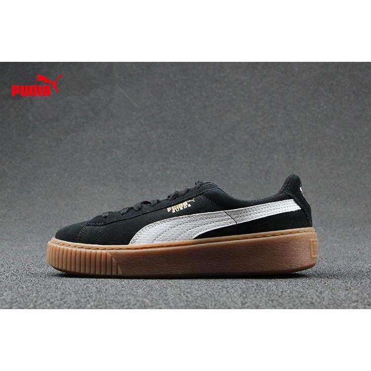 *free shipping* original Puma Suede Platform FREE BTS PHOTOCARD small  shoes
