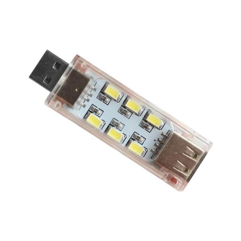 Bảng giá Techtopest-12 LED Đèn USB Loại Nhỏ Hai Mặt Có Thể Xếp Chồng Đèn LED Đèn Ban Đêm Cho Sạc Dự Phòng Máy Tính Xách Tay PC Phong Vũ