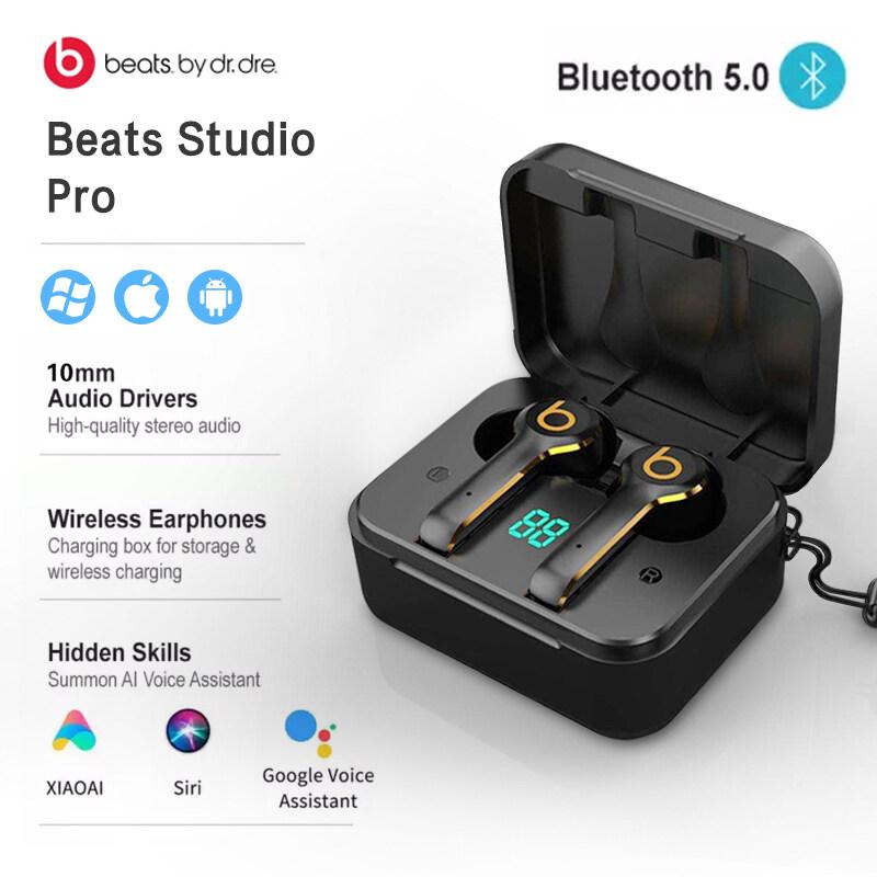 Beats L6 TWS Earbuds ไร้สาย 5.0more เข้า�ันได้ TWS �ีฬาหูฟังบลูทู ธ หูฟัง