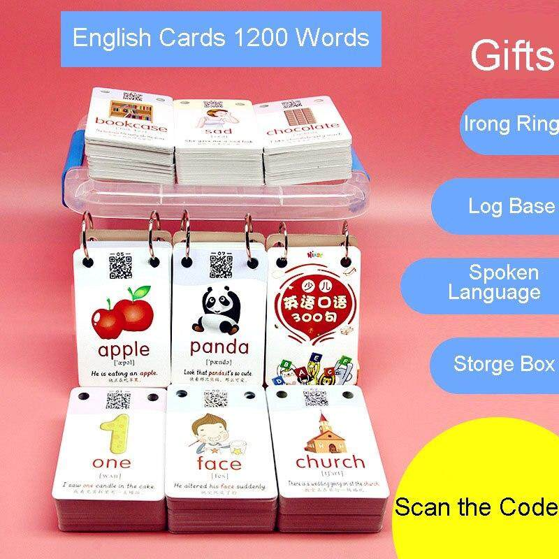 1200 Activity Words Early Learning Picture Activity Card Chinese English Flashcards Word Card Kids Games Educational Toys For Children Montessori By La Chilly.