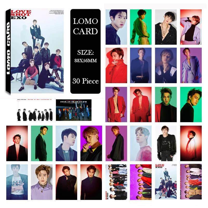 KPOP EXO DON'T MESS UP MY TEMPO LOVE SHOT Album LOMO Cards SUHO KAI
