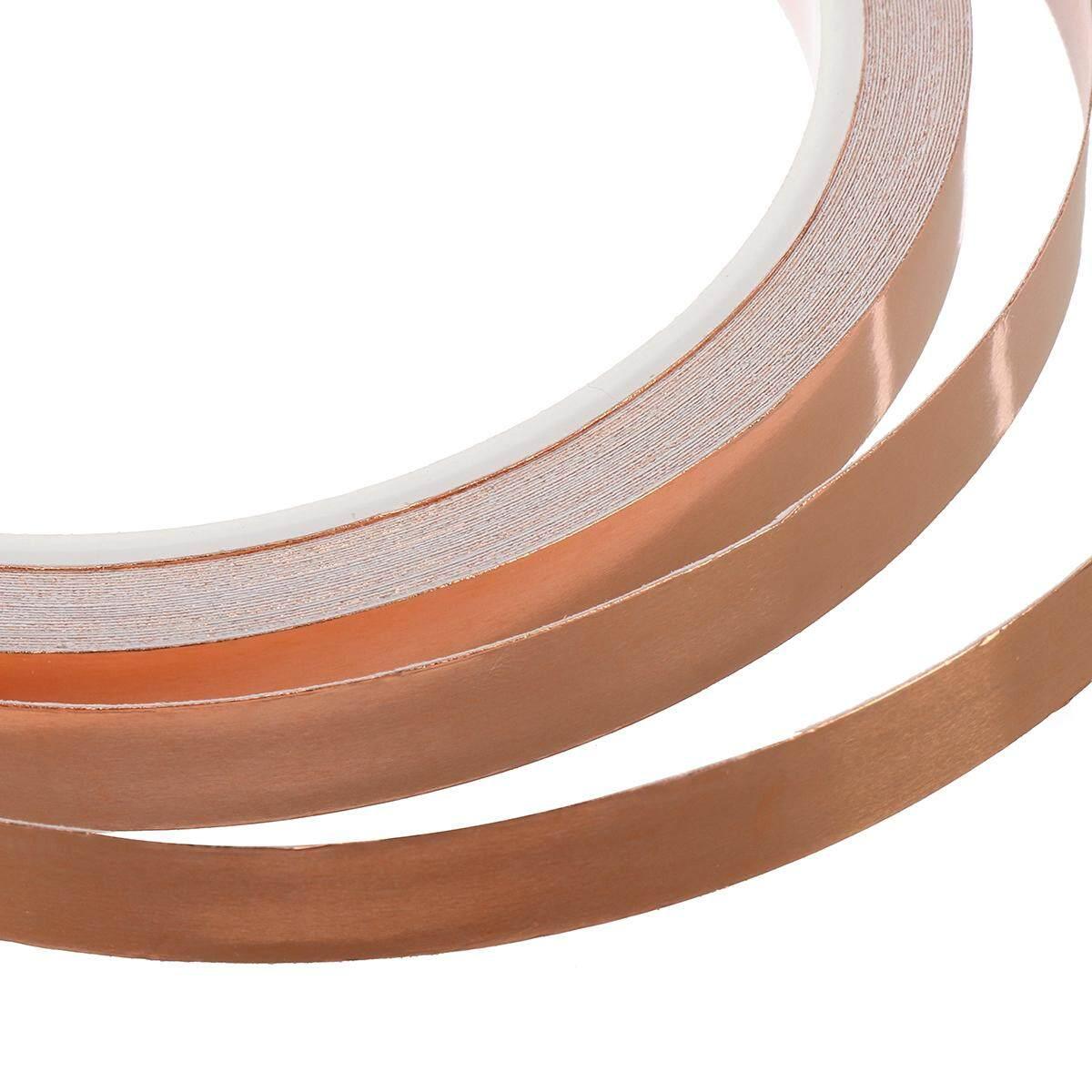 10m 6mm Single-sided Adhesive Conductive Copper Foil Tape Guitar Pickup EMI Shield