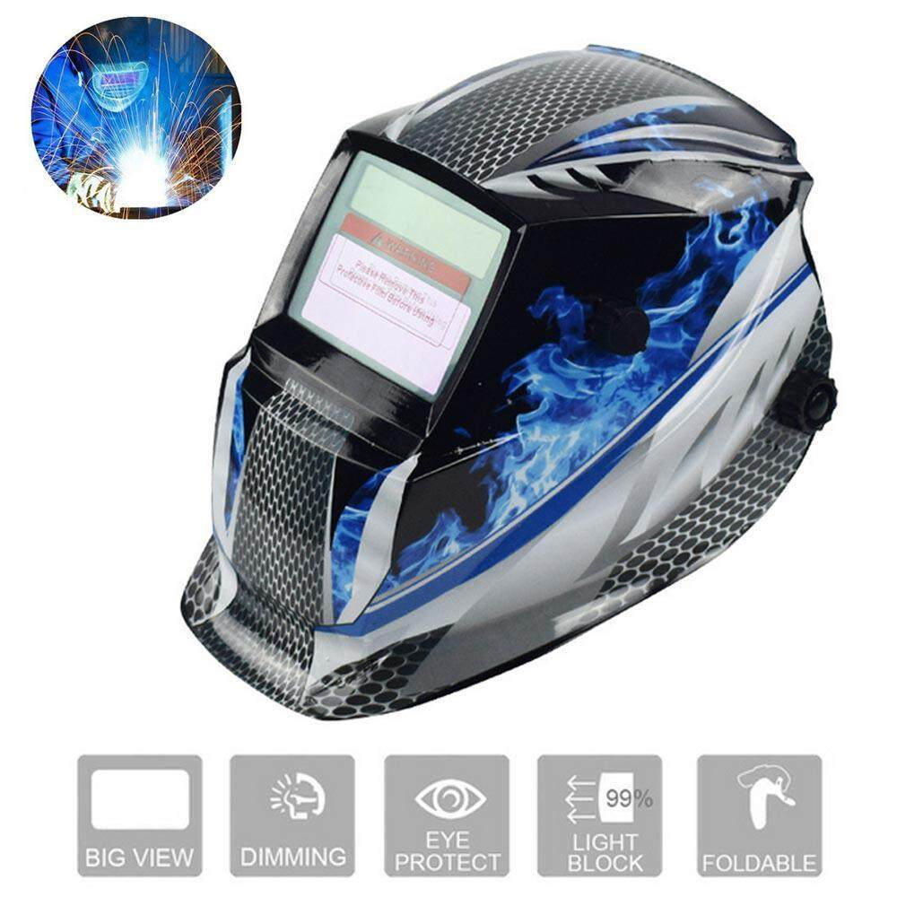 OkcityGO Solar Powered Welding Helmet, Auto Darkening