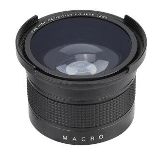 Ống Kính Góc Rộng Mắt Cá 52Mm 035x W Macro Dành Cho Máy Ảnh Canon Minolta Sony SLR T6 thumbnail
