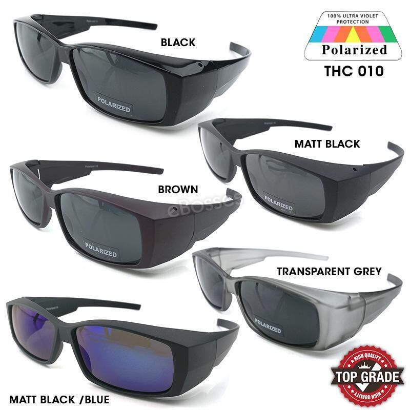 56873c2c5a6 Top Grade UV Protection Flip-up Fitover Glasses Polarized Sunglasses Men  Women (THC 010
