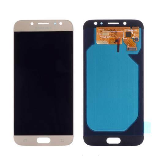 LCD Layar Pendigit untuk Samsung Galaxy J7 Pro J730F Layar LCD Lengkap Panel Layar Sentuh Digitizer Perbaikan Parts 5.5 Inches