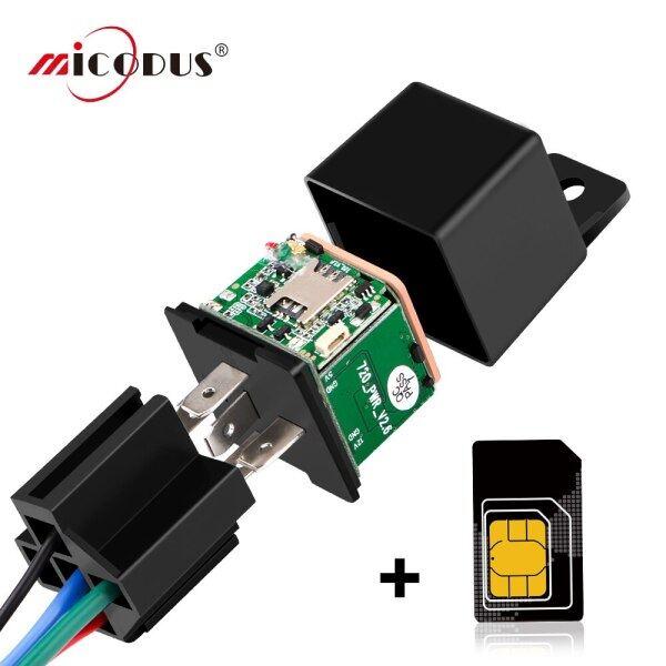 Thiết Bị Theo Dõi GPS, Xe MV720 Tiếp Sức, Máy Theo Dõi Xe Hơi GPS Mini Cắt Nhiên Liệu Thiết Kế Ẩn 80MAh Cắt Dây Sốc Cảnh Báo FREEAPP
