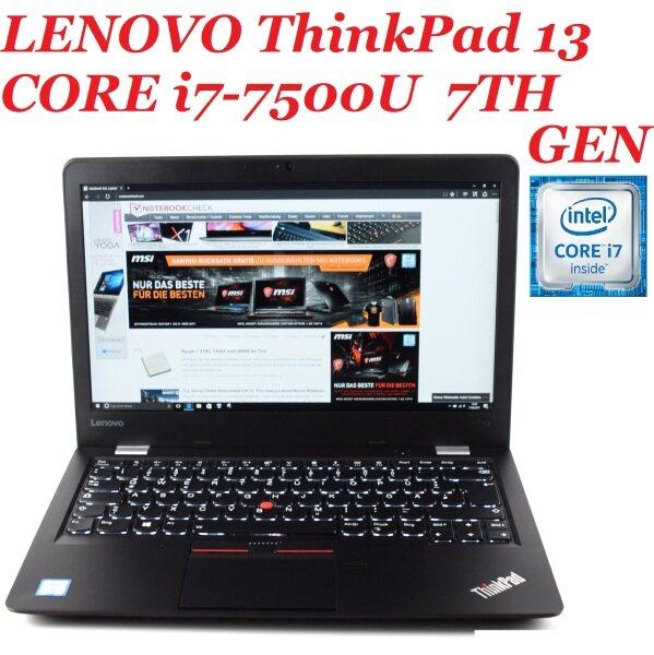 LENOVO THINKPAD 13(2017) [ INTEL CORE i7-7500U VPRO PROCESSOR 2.7 TO 2.9  7TH GEN/8GB DDR4 /256GB SSD/13 FULL HD TOUCH SCREEN DISPLAY/INTEL HD 620 GRAPHIC CARD/BUILT IN WEB CAM/WIFI/WIN 10(REFURBISHED) Malaysia