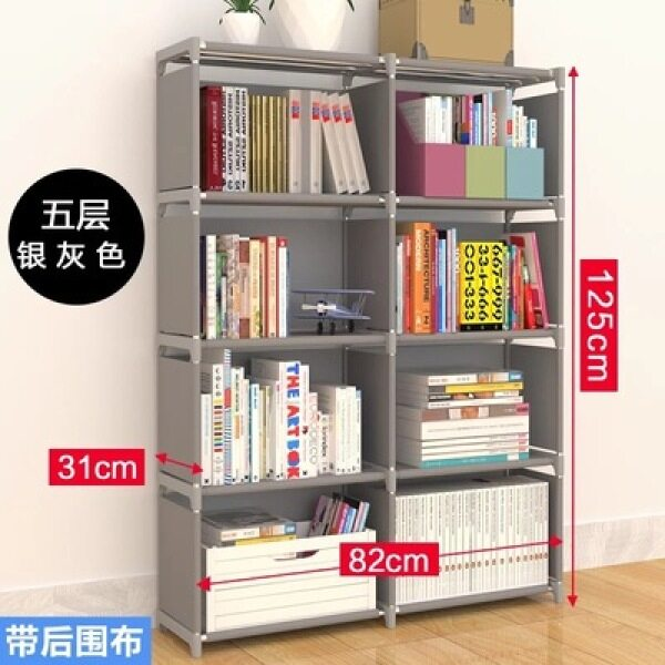 Simple Bookcase Landing Storage Shelf for Student Bookcase Bookshelf in My Bedroom Desk Children Minimalist Modern Storage Locker