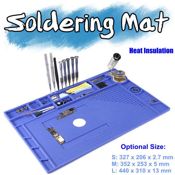 530 ℃ Cách Nhiệt Hàn Mat Silicone Pad Bàn Mat Điện Thoại Sửa Chữa Trạm Nền Tảng Bảo Trì túi chườm nóng