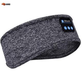 AMO Băng Đô Bluetooth, Băng Đô Thể Thao Gọi Nhạc Bluetooth Khăn Trùm Đầu Âm Nhạc Yoga Chạy Bộ thumbnail