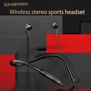 C-SAW Tai Nghe Treo Cổ, Tai Nghe Bluetooth Không Dây Thể Thao, Nhạc Treo Tai Trong Tai Hai Tai 3D Stereo thumbnail