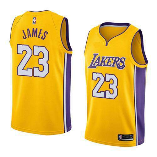 592d3555a NBA_Los_Angeles_Lakers_Number_23_Basketball_Clothes_For_Man_LeBron_James_Swingman_Jersey_Team_Color_Alternate_American_Purple_City_Edition_Int_S