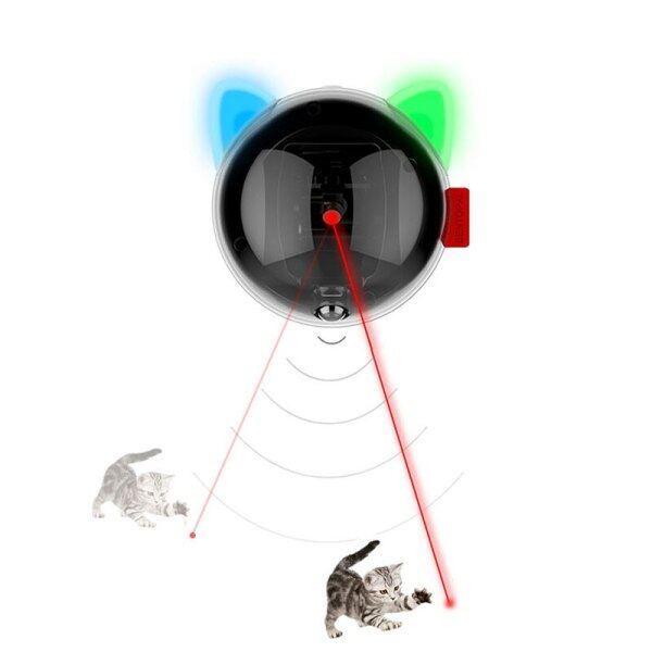 Tiếp Thêm Sinh Lực Mèo Đồ Chơi Laser, Đèn Led Mèo Thông Minh Tự Động, Đồ Chơi Tương Tác Vui Nhộn Chạy Điện Laser Dla Kota USB Có Thể Sạc Lại