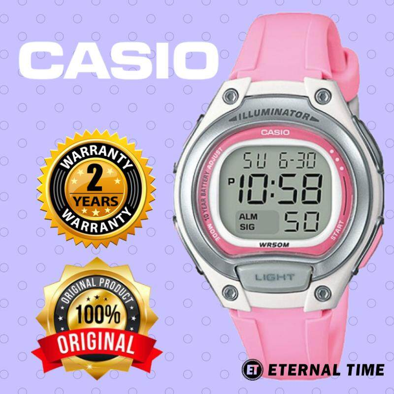 (2 YEARS WARRANTY) CASIO ORIGINAL LW-203-4A DIGITAL KIDS WATCH (LW-203) (WATCH FOR KID / JAM TANGAN BUDAK / JAM TANGAN KANAK / CASIO WATCH LADIES / WATCH FOR WOMEN / CASIO WATCH) Malaysia
