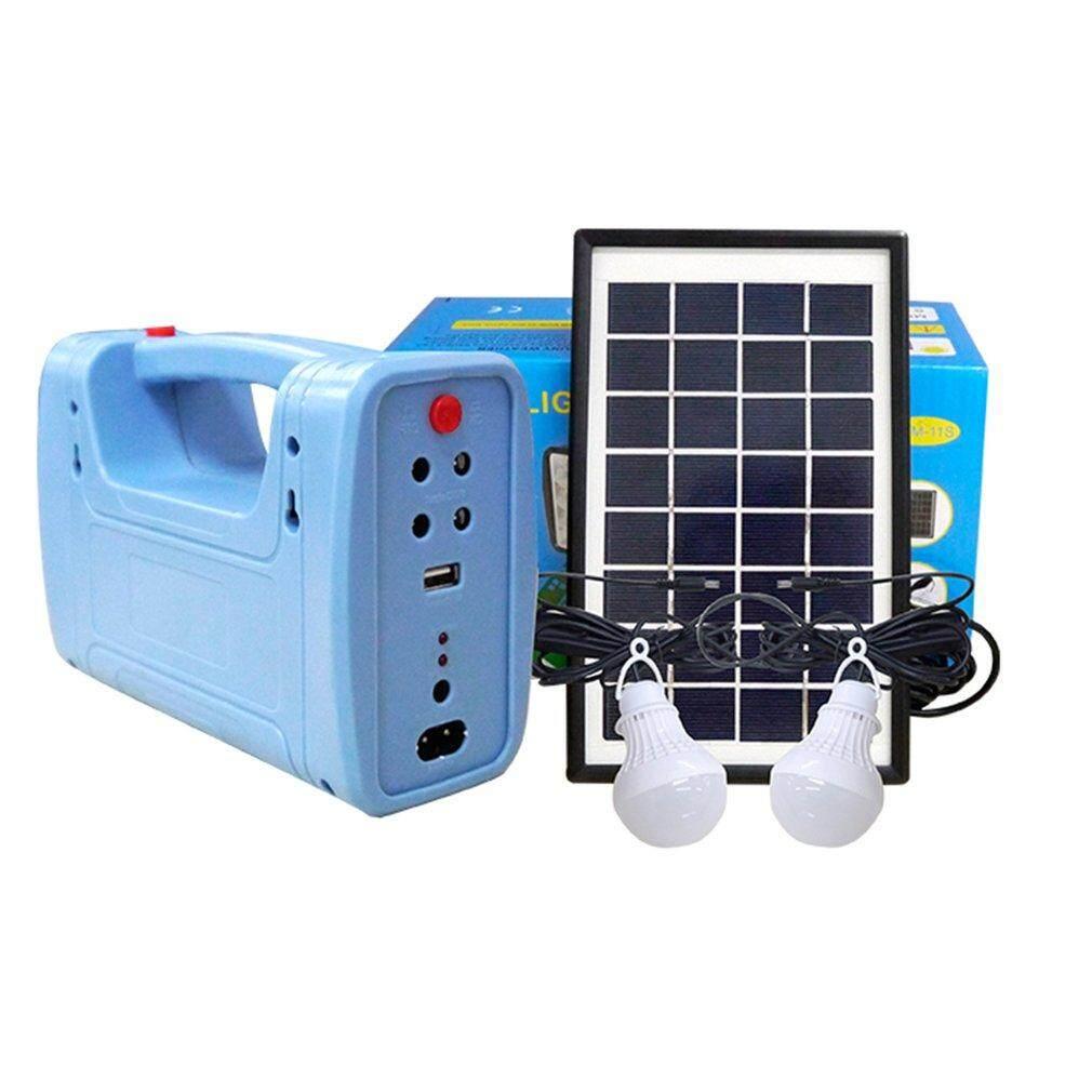 Hot Bán Hàng Năng lượng mặt trời Bảng Điều Khiển Máy Phát Điện Bộ Sạc USB Nhà Hệ Thống Ánh Sáng Trong Nhà/Ngoài Trời