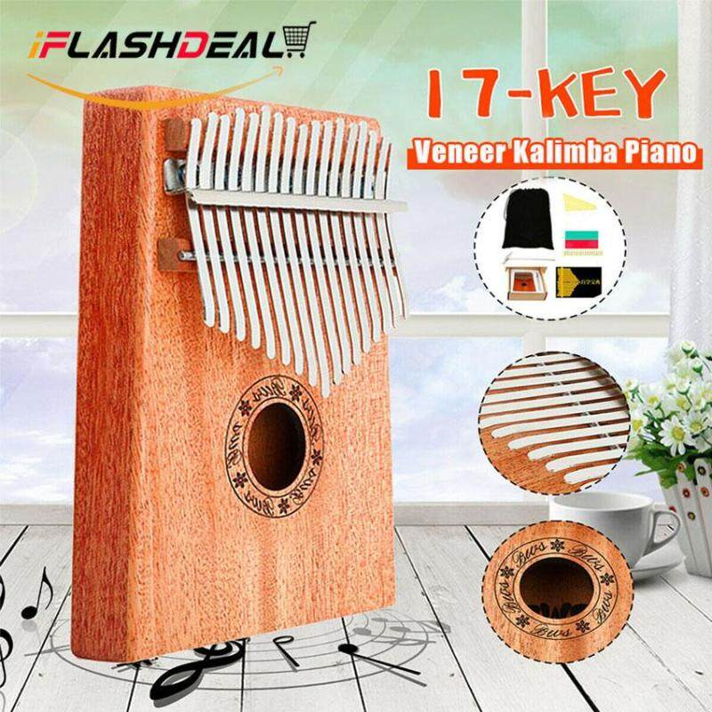 iFlashDeal 17 Keys Kalimba Thumb Piano Mbira African Fingers Kalimba Mahogany Wood Acoustic Music Instrument for Music Lovers Malaysia