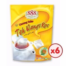 888 Teh Wangi Ros Pot Bag (2g X 20 Sachets) - [bundle Of 6] By 888 Official Store.