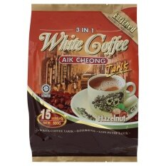 Aik Cheong Hazelnut 3 In 1 White Coffee 15s X 40g By Tesco Groceries.