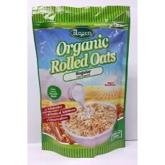 Anzen Organic Rolled Oats Regular 500g - Canada By Health Care Trading.