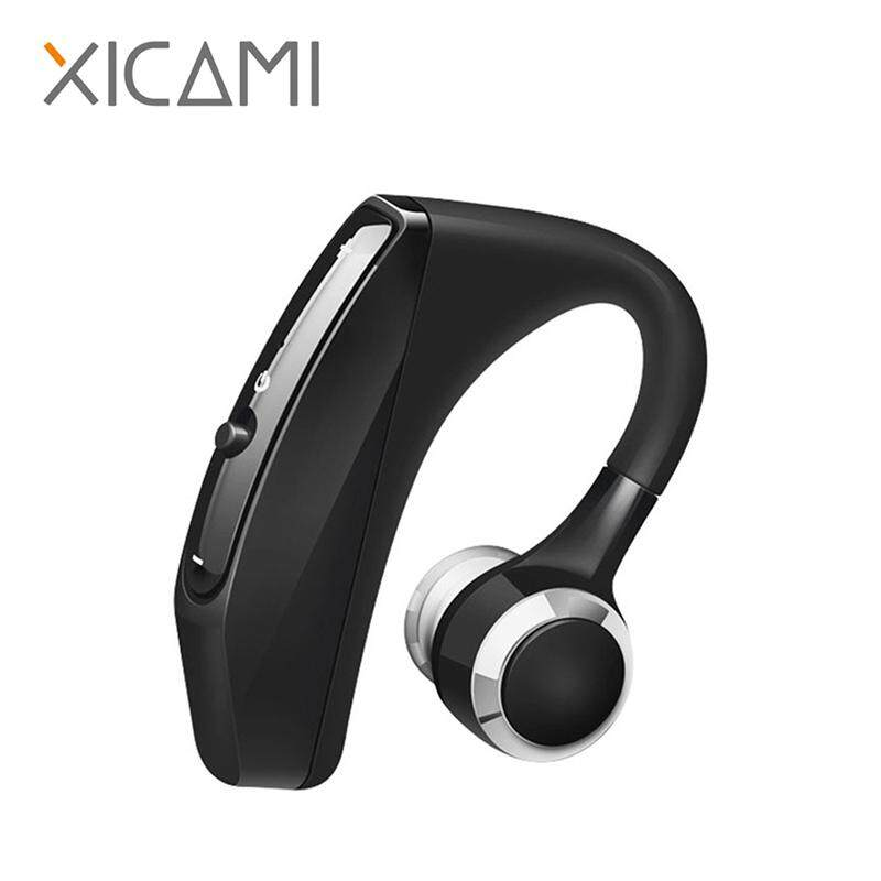 XICAMI Business Bluetooth Headphone Sports Earphones With Mic Voice Control Wireless Earbuds Bluetooth Headset For Drive