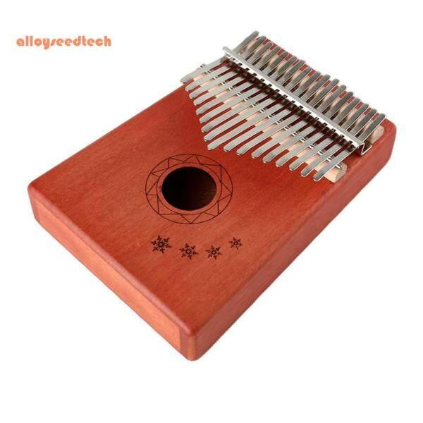 Đàn Piano Cầm Tay 17 Phím, Gỗ Kalimba Nhạc Cụ Cho Người Mới Bắt Đầu (Hàng Có Sẵn)