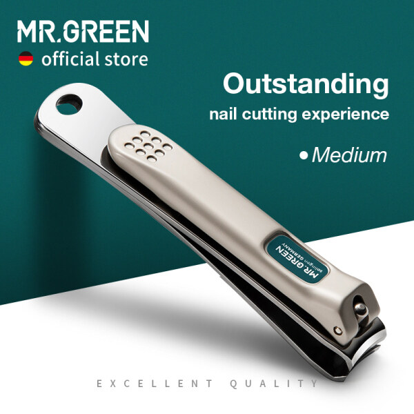 Buy MR.GREEN Nail Clippers Stainless Steel Curved blade Clipper Fingernail Cutter Manicure tools trimmer with nail files Singapore