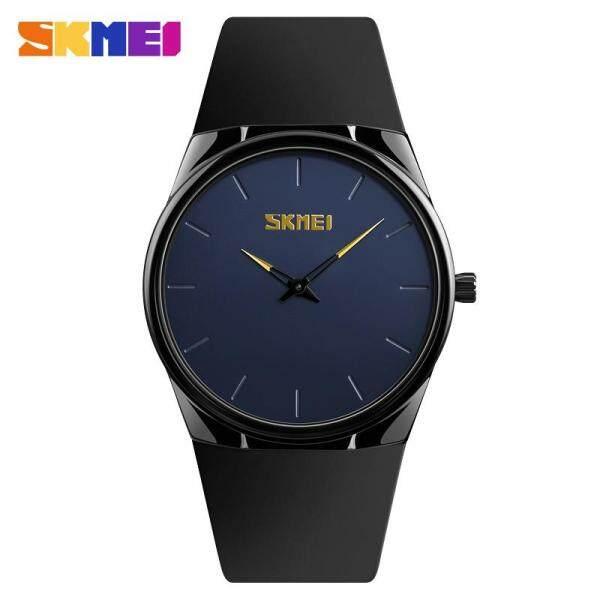 Đồng hồ thạch anh SKMEI 1601S cho nam và nữ đồng hồ đeo tay bằng hợp kim nhẹ mỏng chống nước thời trang giản dị hàng ngày - INTL