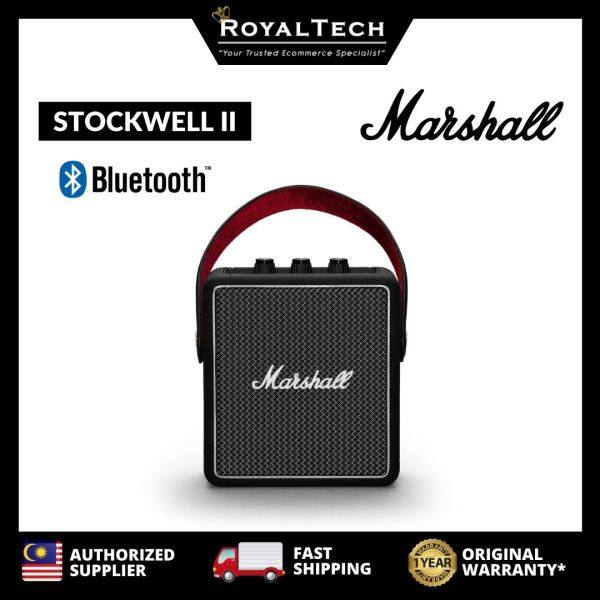 [LIMITED STOCK] MARSHALL STOCKWELL II Stockwell 2 Bluetooth Speaker [Malaysia Genuine Store] Hit The Road Collection Malaysia
