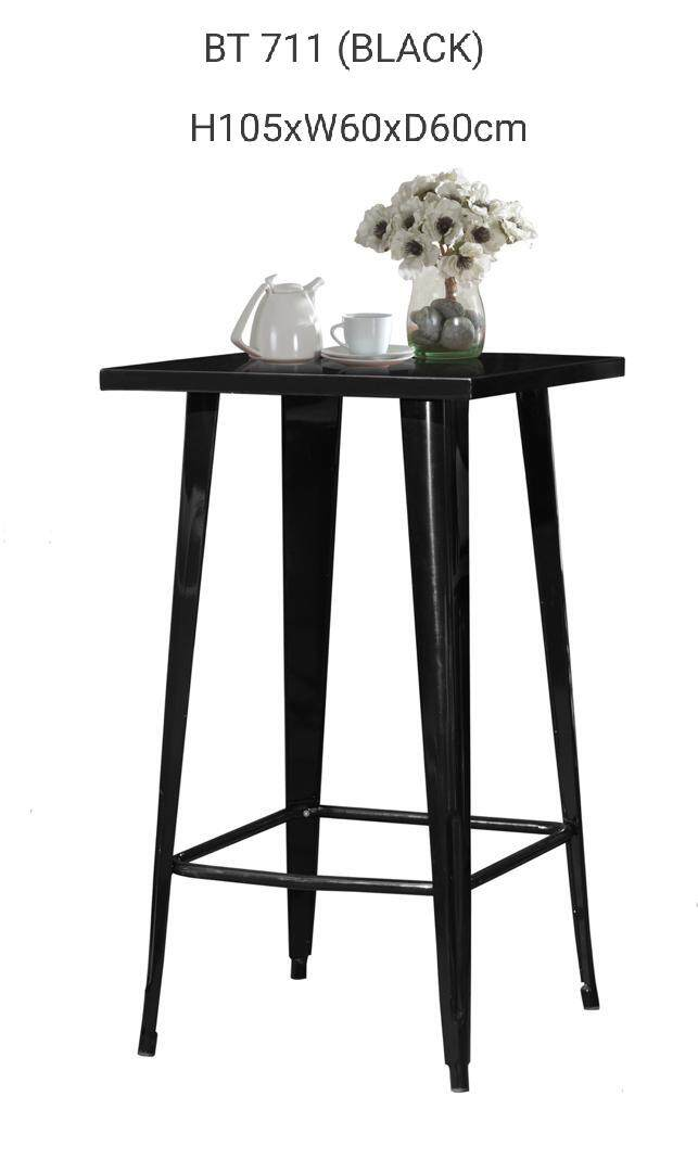 Lavin Bar Table Bt 711 (black) By Lavin Home.