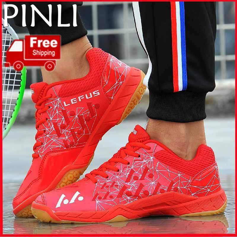 Pinli [free Shipping] Couple Sports Shoes Mens Badminton Shoes Breathable Womens Shoes Outdoor Training Shoes Sports Shoes By Pinli.