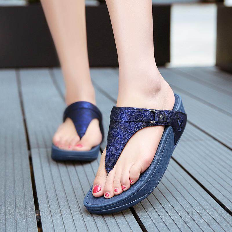 Women's Shoes 2019 Women Flip Flops Summer Sandals Beach Shoes Women Casual Flat Slippers For The Seaside Holiday Shoes