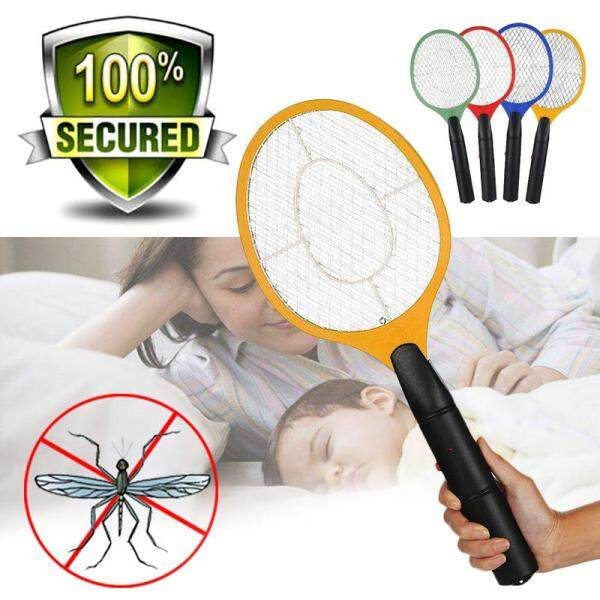 Electronic Bug Zapper Racket Mosquito Fly Swatter Wasp Pest Electric Bat Rechargeable Mosquito Insects Swatter Racket Electronic Mosquito Killer Electric Bat Mosquito Pat Electronic Pest Control Pat Fly Swatter Wasp Pest Mosquito
