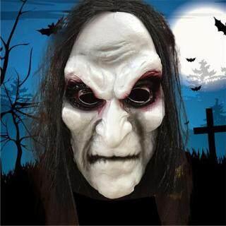 Yongzhiliu Mặt Nạ Zombie Halloween Mặt Nạ Kinh Dị Lễ Hội Ma, Mặt Nạ Halloween Đáng Sợ thumbnail
