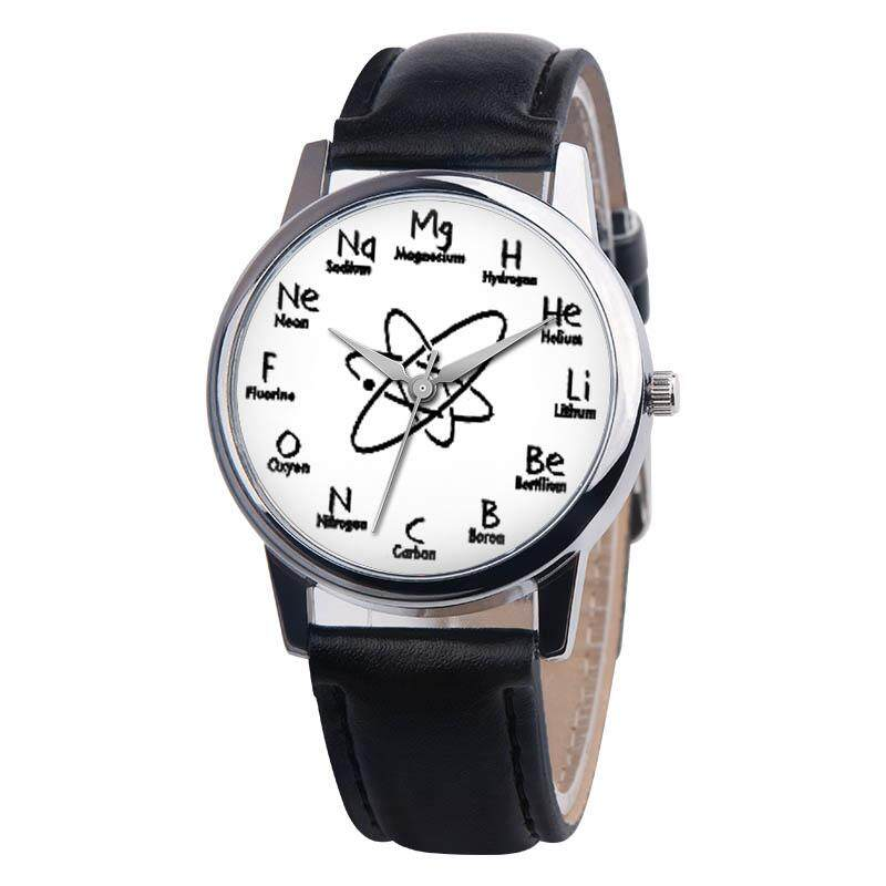 Women Wrist Watch PU Leather Strap Round Dial Girl Casual Analog Quartz Watches Malaysia