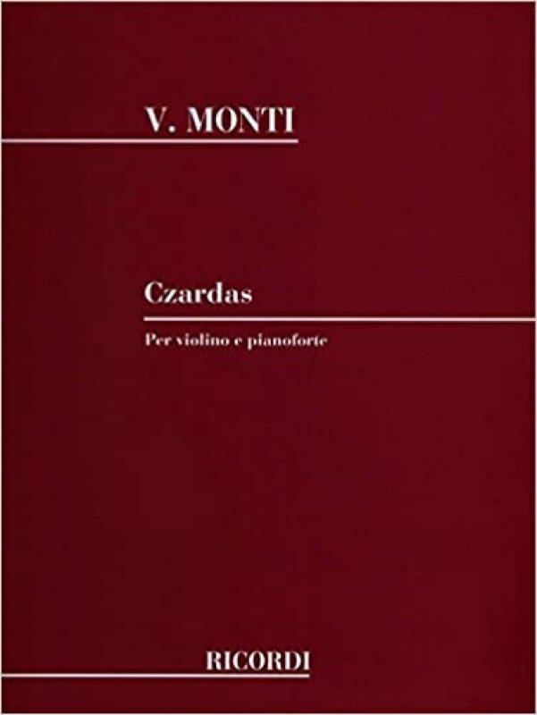 Monti: Czardas for Violin and Piano (Sheet Music), Ricordi edition Malaysia