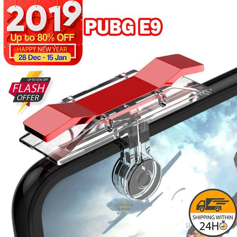 New Pubg Mobile Game Trigger Button Handle Grip Shooter Controller Gamepad B06 B07 By Lucky Star Mobile.