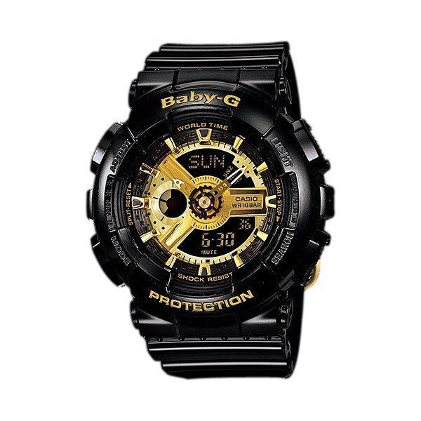 CASIO_Baby_G BA110 BLACK GOLD Malaysia