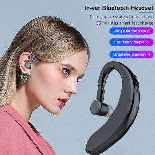 Tai nghe Bluetooth V9 không dây có mic Điều khiển bằng giọng nói Tai nghe kinh doanh Tai nghe khử tiếng ồn cho lái xe thể thao thumbnail