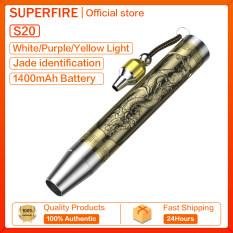 Đèn Pin Supfire S19 Ngọc Bích, Đèn Pin Mini Cầm Tay Đèn Chống Thấm Nước Ba Màu Nguồn Sáng S20