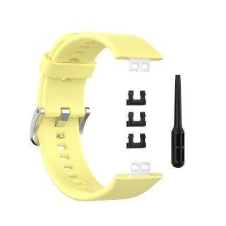 Silicone Dây Đeo Cổ Tay Dây Đeo Đối Với Huawei Đồng Hồ Phù Hợp Với Vòng Đeo Tay Thay Thế Watchband, Dây Đeo Đồng Hồ Thông Minh Phù Hợp Với Đồng Hồ Huawei thumbnail