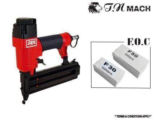 SKIL PNEUMATIC NAIL GUN FOC F30 AND F50 NAILER MODEL : 8885