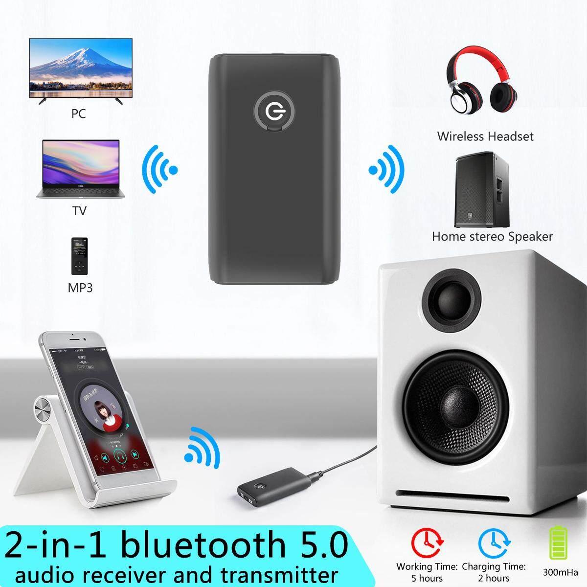 USB Bluetooth 4.2 Wireless 3.5mm Jack Stereo Music Audio Transmitter Adapter Hot