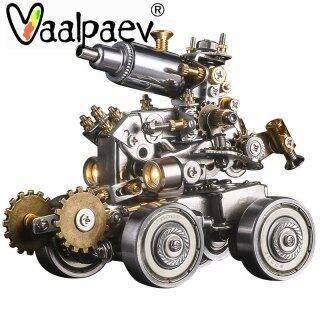 Hộp Che Giáp Hợp Kim Sắt Kim Loại 3D, Mô Hình Khối Xếp Hình Lắp Ráp Tự Làm Quà Tặng Sáng Tạo Đồ Chơi Xe Tăng Robot Cho Nam Bé Trai thumbnail