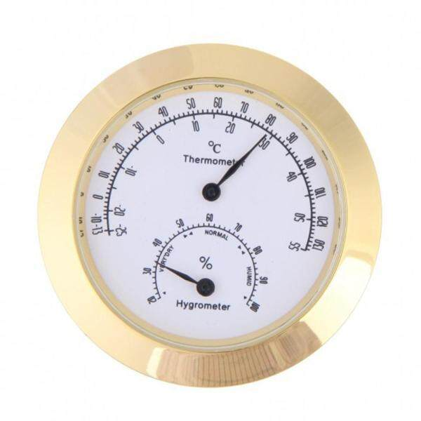 Round Thermometer Hygrometer Humidity Temperature Meter for Violin Guitar Case Instrument Care Monitoring Meter Tool Malaysia