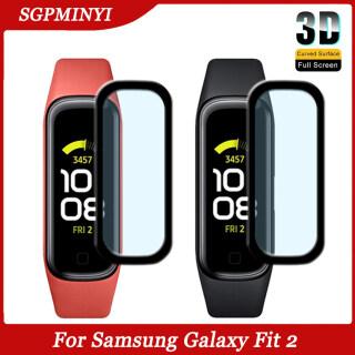 3-1 Miếng Dán Bảo Vệ Cho Samsung Galaxy Fit 2 Miếng Dán Bảo Vệ Toàn Màn Hình Cong 3D Miếng Dán Bảo Vệ SM-R220 Mềm Cho Samsung Galaxy Fit 2 (Không Phải Kính Cường Lực) thumbnail