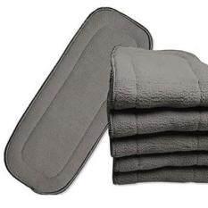 Tã lót bằng vải vi sợi than tre giặt được 5 lớp ZHANG Alvababy – INTL