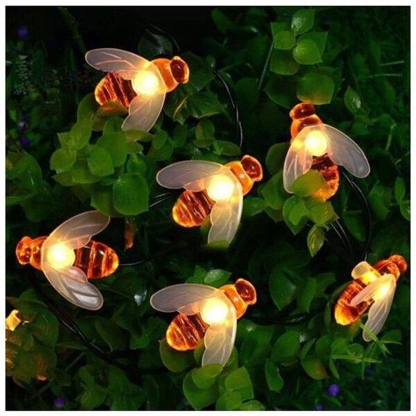 Bảng giá Pin LED Warmstion Hoạt Động 2.2/3.2M Đèn Sưởi Ấm Hình Con Ong Mật Trang Trí Sân Vườn